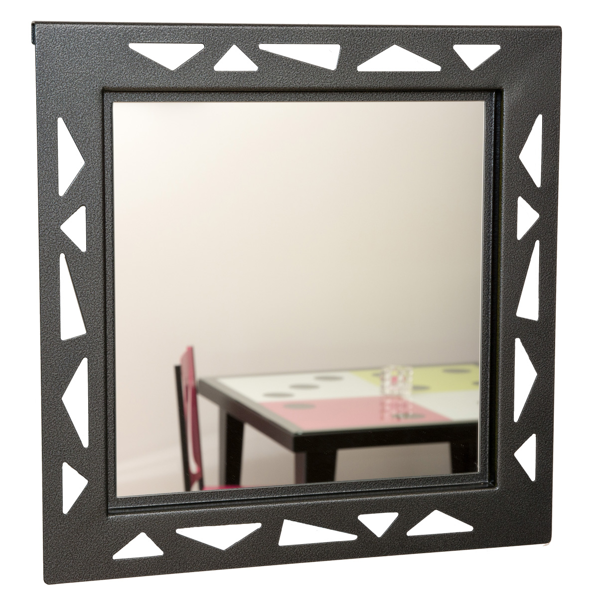 Cadre miroir styl 39 m tal21 for Miroir cadre metal