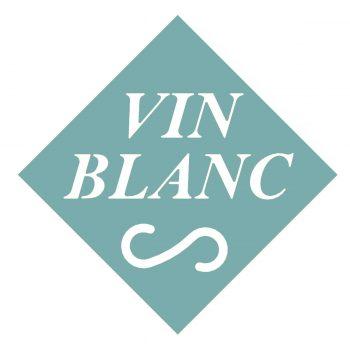 Dessous de bouteille BLANC
