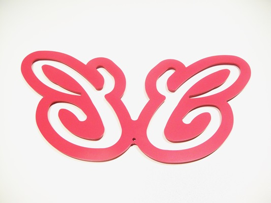 Dessous de plat papillon