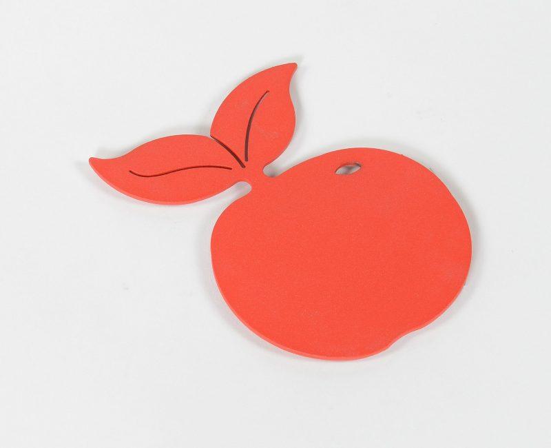 6 dessous de verre Pomme
