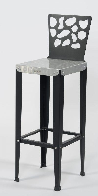 Chaise de bar Lilou D3 Luxe