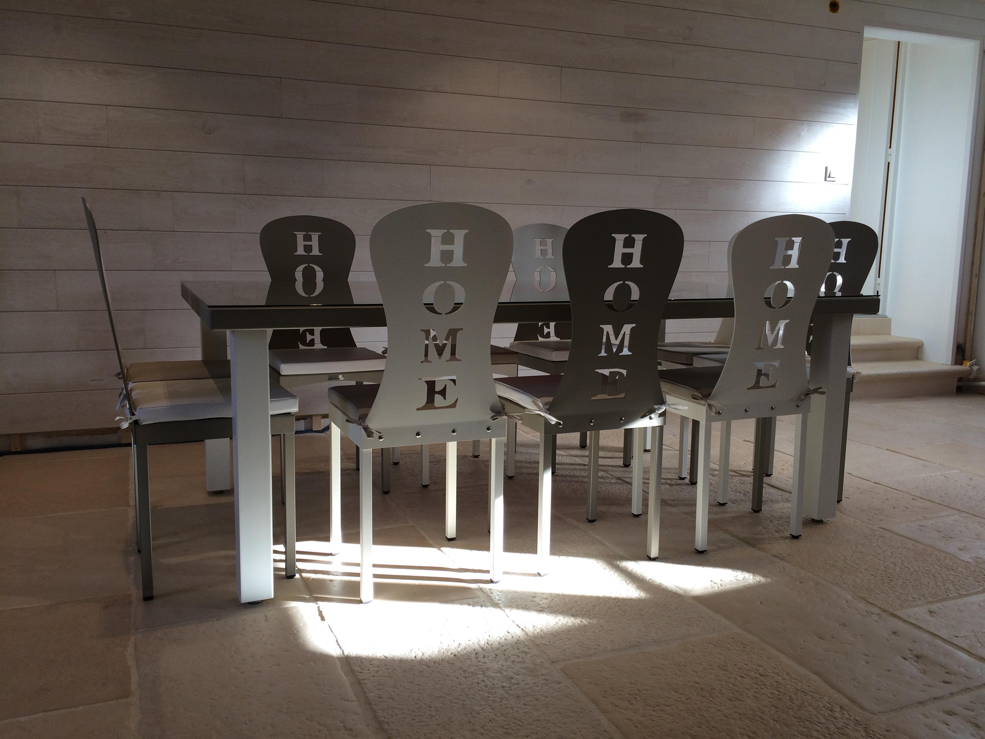 Chaise Home (lot de 2)