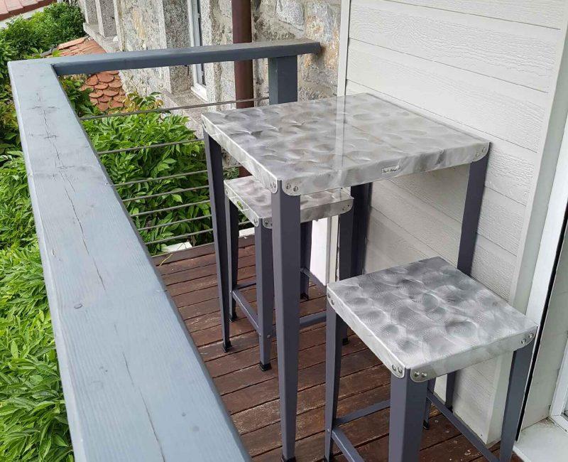Table haute Lilou Luxe
